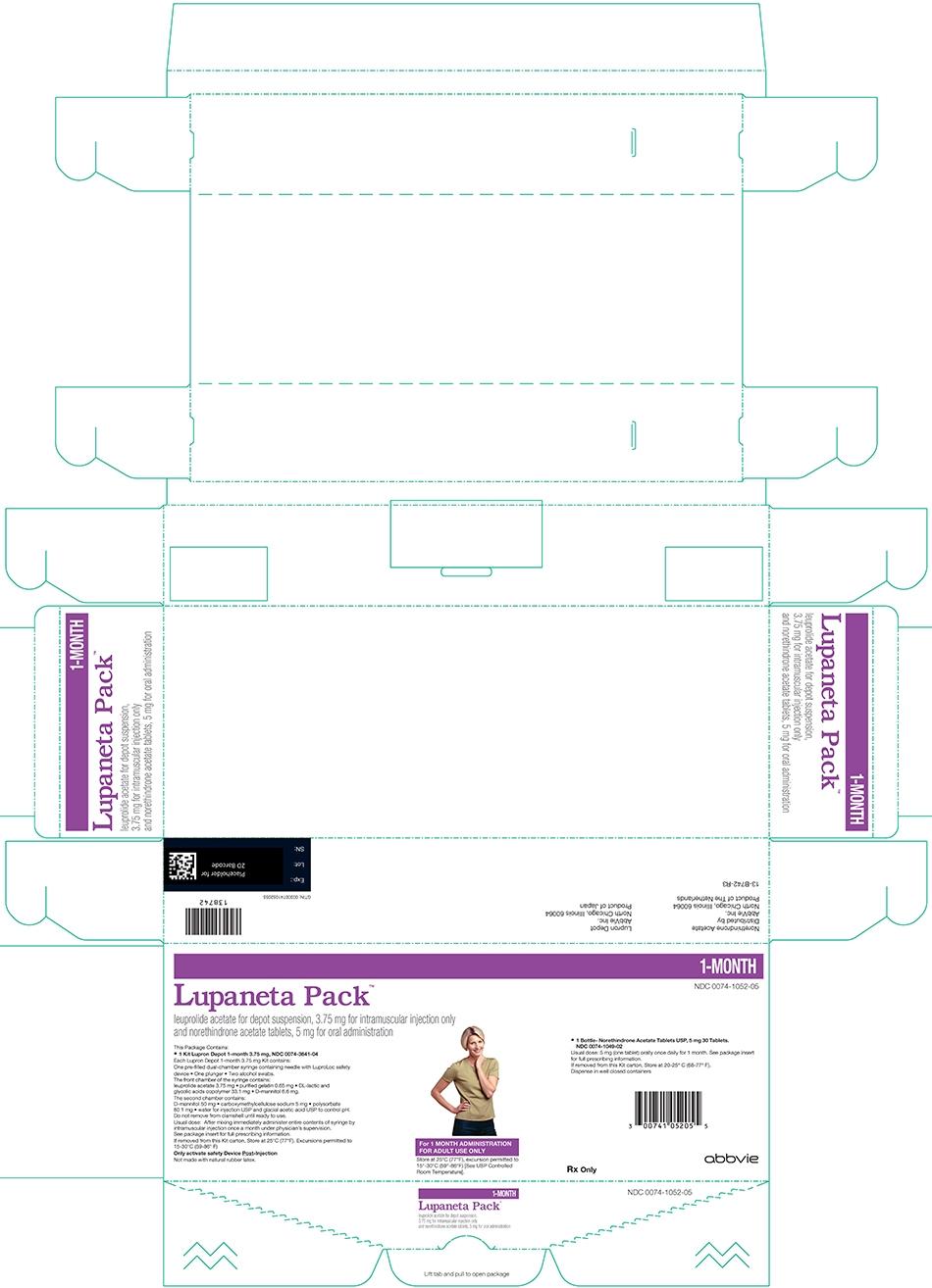 lupaneta 3.75mg 1 month kit