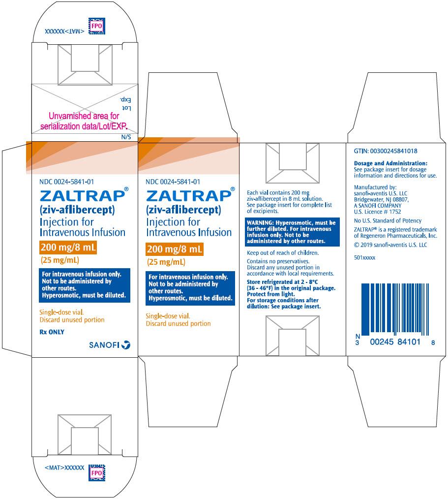 PRINCIPAL DISPLAY PANEL - 200 mg/8 mL Vial Carton