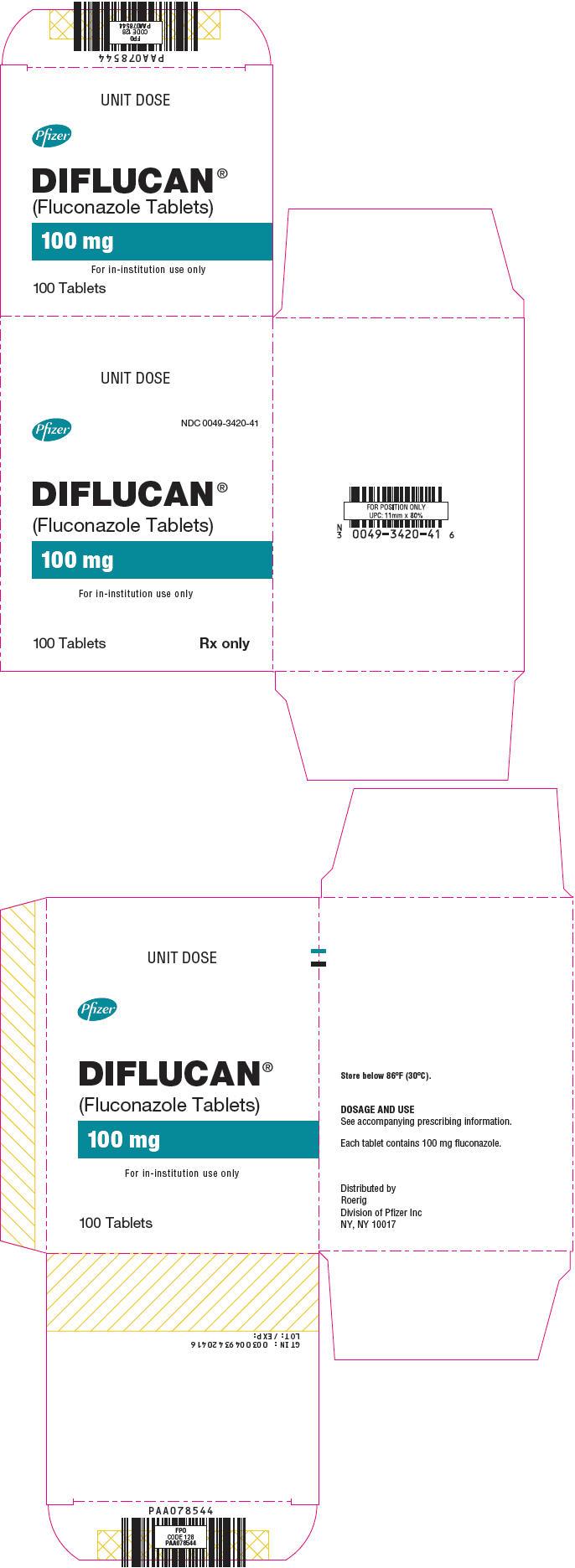 Principal Display Panel - 100 mg Tablet Blister Pack Carton