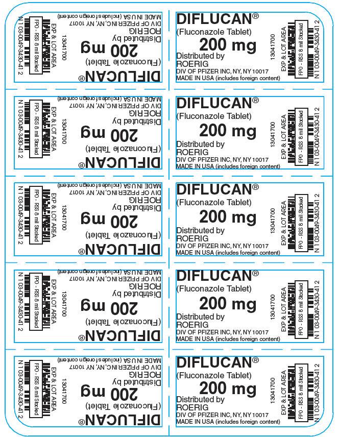 Principal Display Panel - 200 mg Tablet Blister Pack