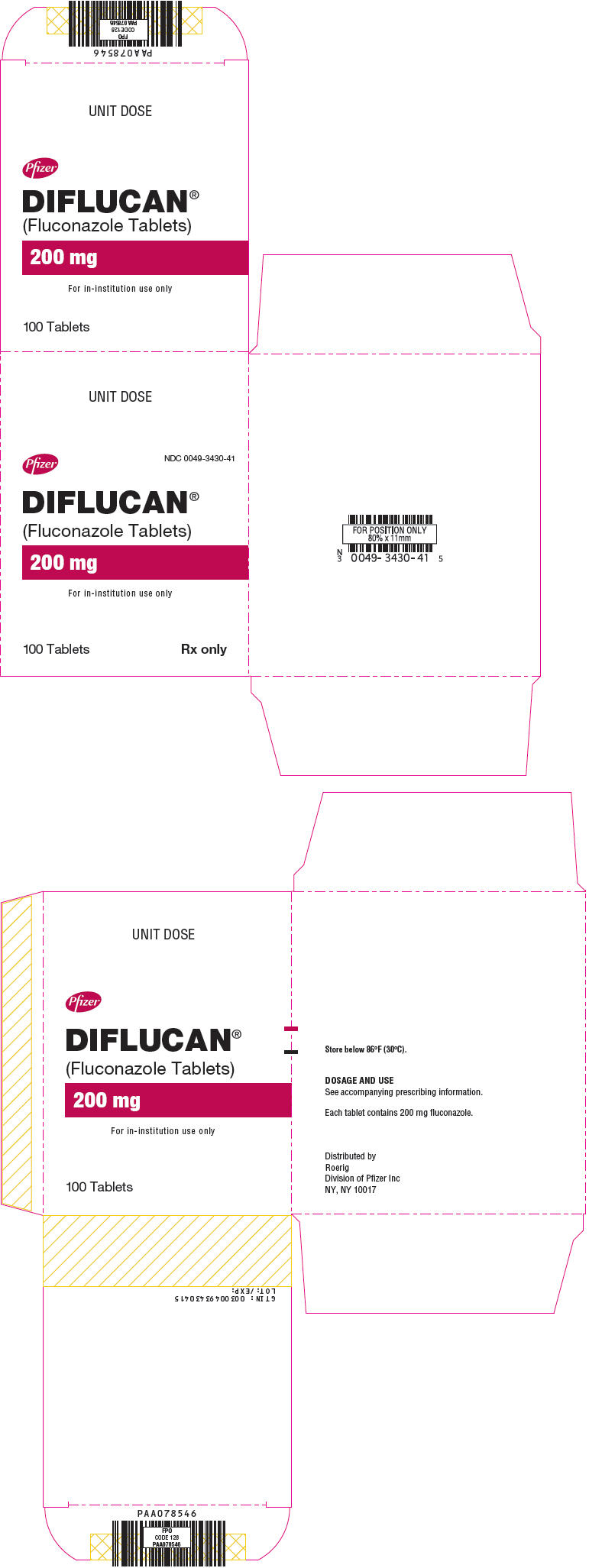 Principal Display Panel - 200 mg Tablet Blister Pack Carton