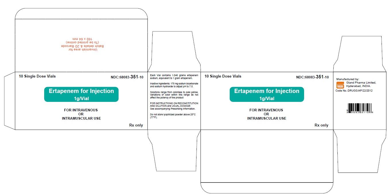 Ertapenem-Carton-Label