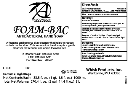 Case Label - 8 x 1000 mL