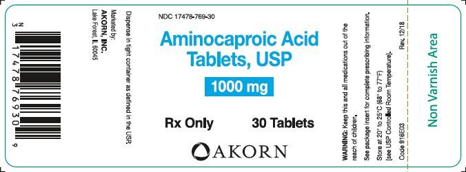 Bottle Label - 1000 mg Tablets