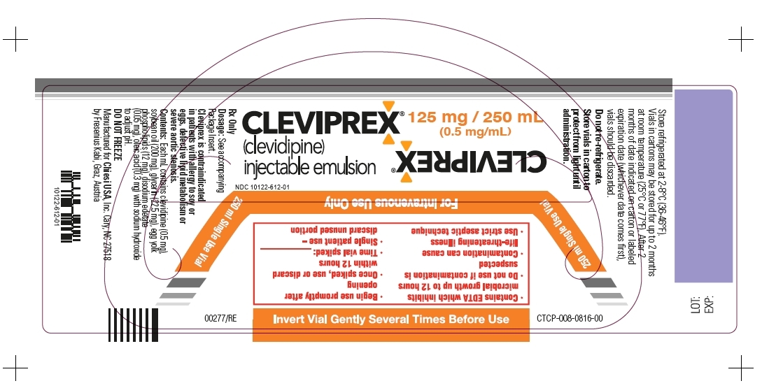 Package Label - Principal Display Panel - 125mg/250mL Vial Label