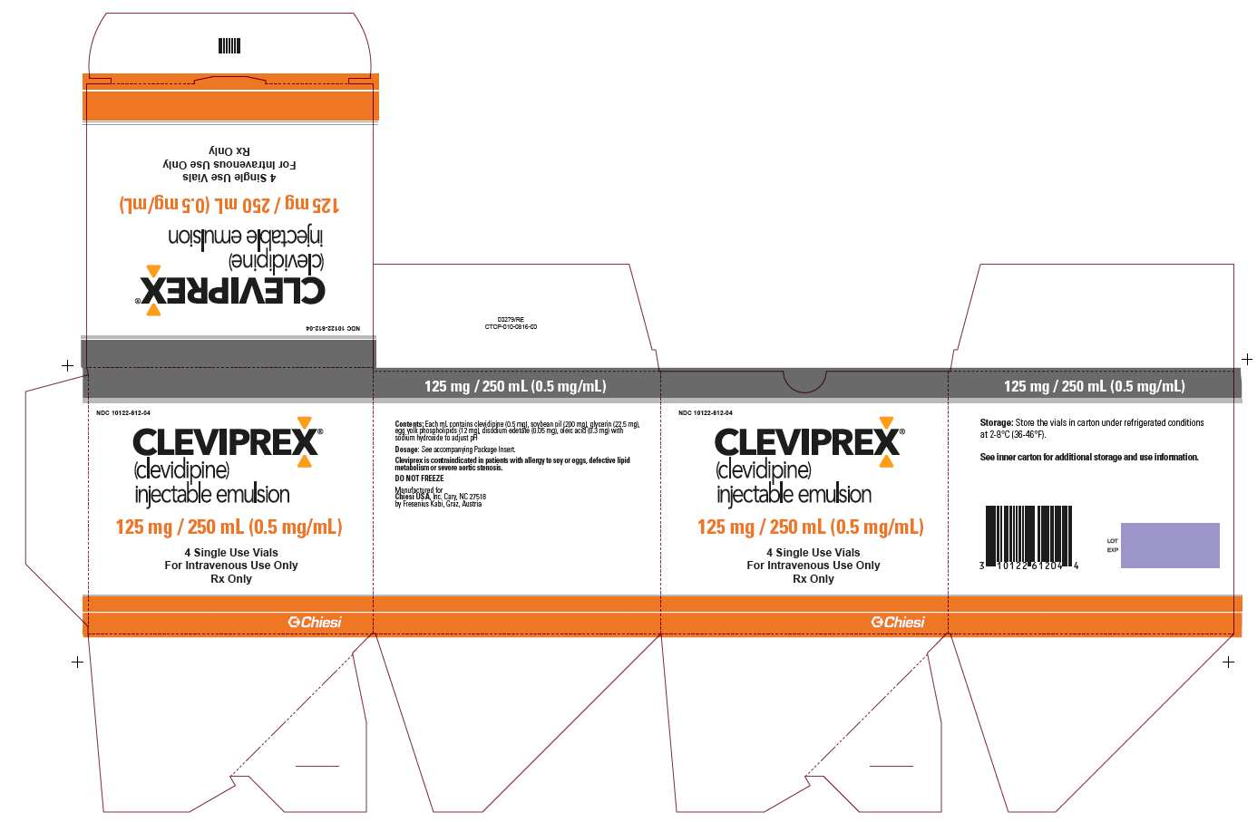 Package Label - Principal Display Panel - 125mg/250mL Outer Carton