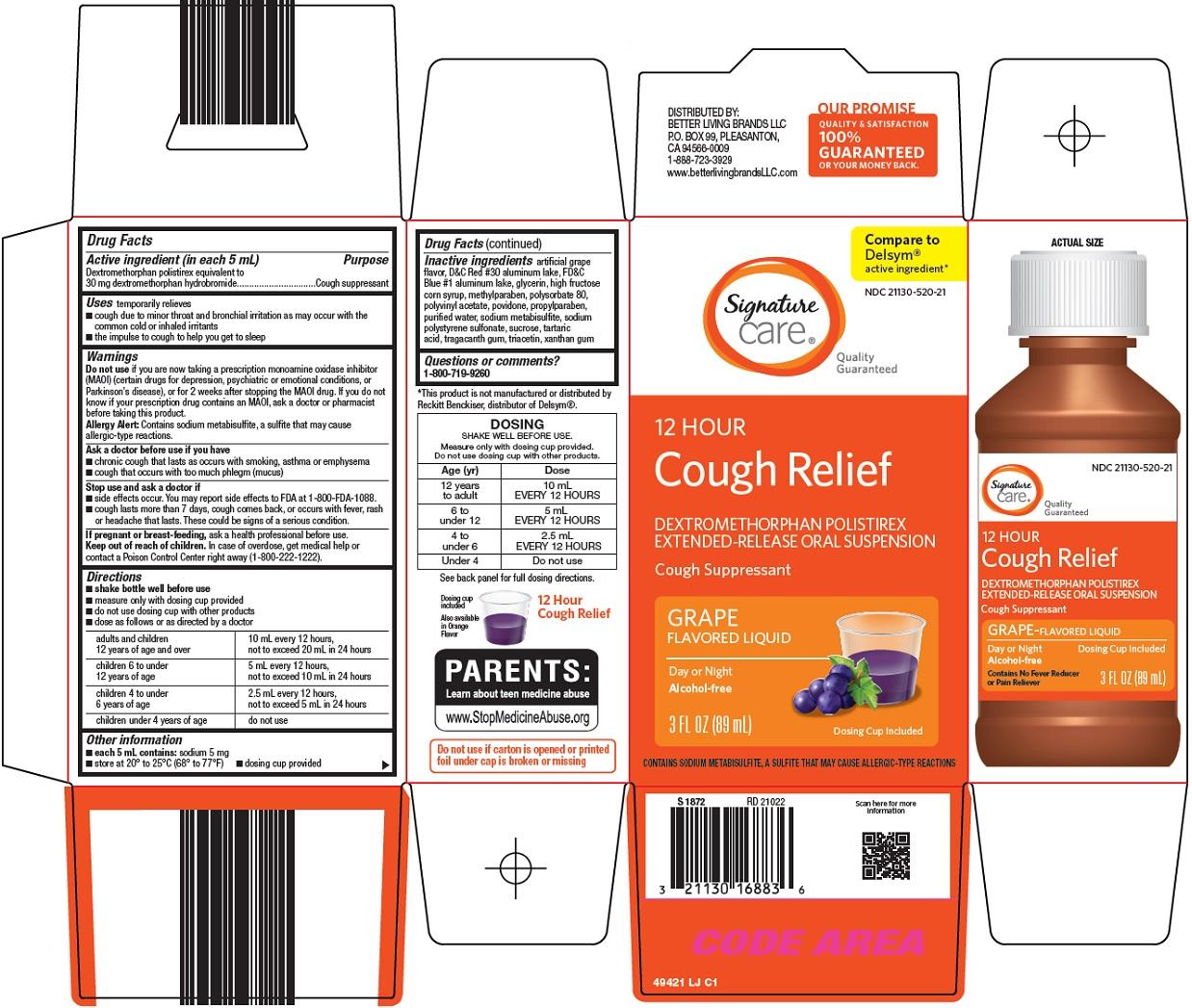 Cough Relief Carton