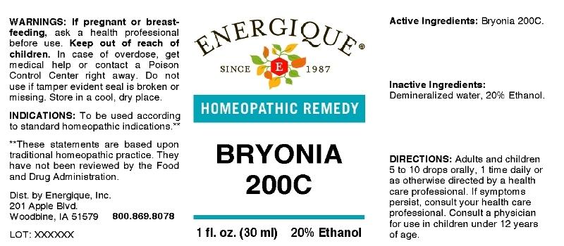 Bryonia 200C