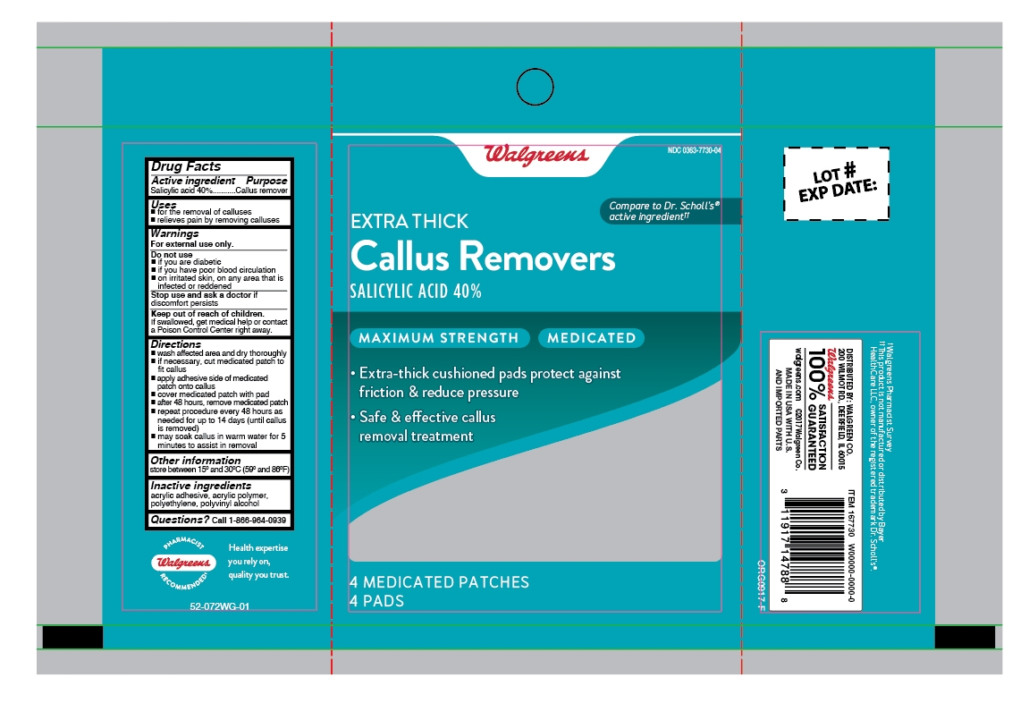 Walgreens Extra Thick Callus Removers