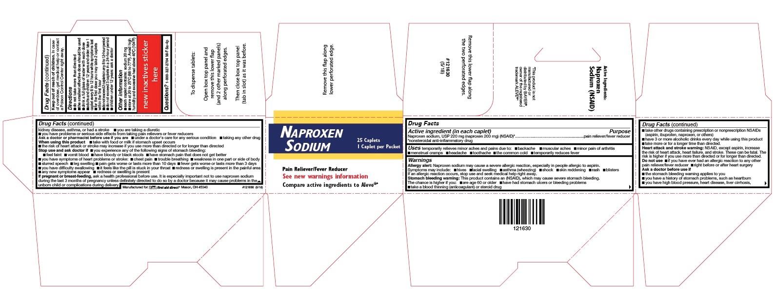 Naproxen Sodium Label