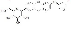 Empagliflozin structure