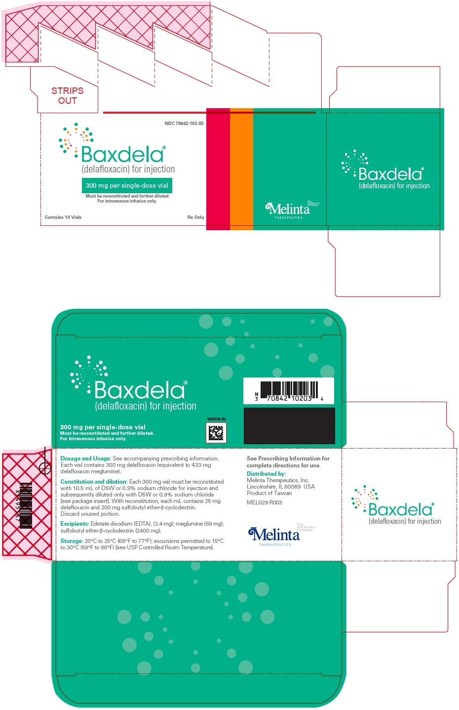 PRINCIPAL DISPLAY PANEL - 300 mg Vial Carton