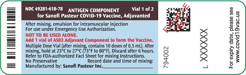 PRINCIPAL DISPLAY PANEL - 10 Vial Label