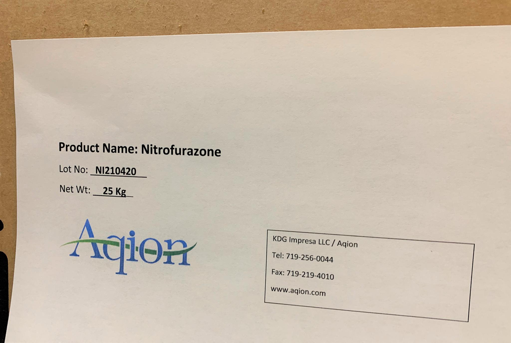 Nitrofurazone Bulk Label