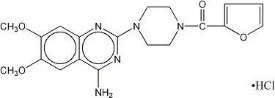 prazosin hydrochloride capsules structural formula