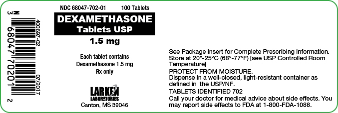 dexamethasone label
