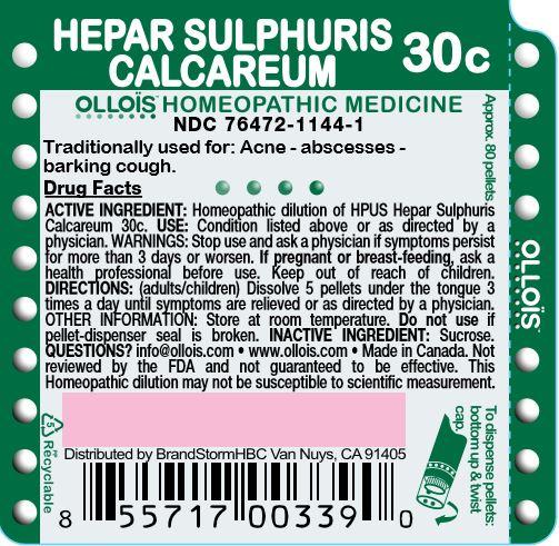 Hepar Sulphuris Calcareum 30c