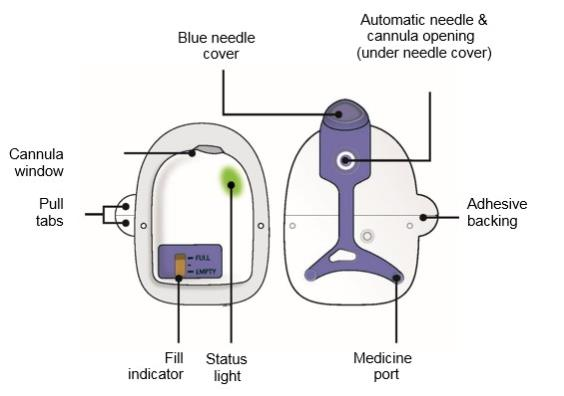 On body Injector for Neulasta