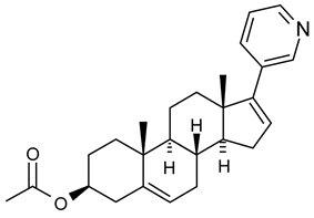 Abiraterone Acetate Structural Formula