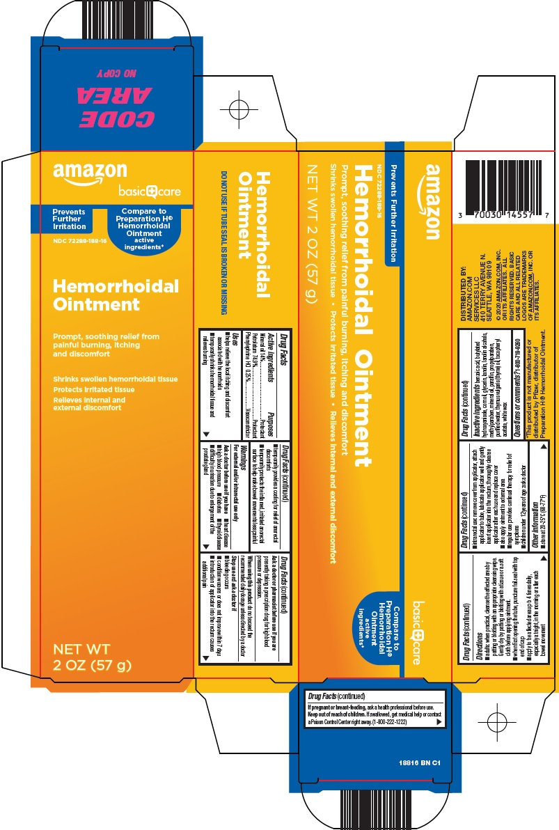 Hemorrhoidal Ointment Carton