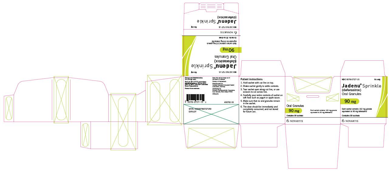 PRINCIPAL DISPLAY PANEL – PACKAGE LABEL – 90 MG Sprinkle