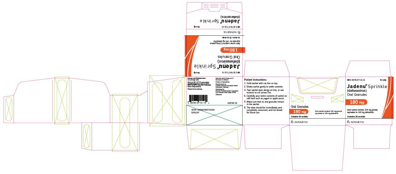 PRINCIPAL DISPLAY PANEL – PACKAGE LABEL – 180 MG Sprinkle