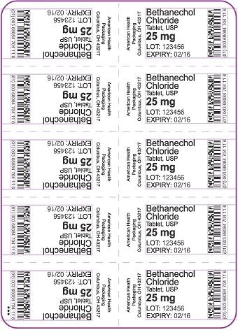 25 mg Bethanechol Chloride Tablet Blister